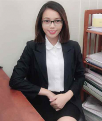 Lawyer Assistant Tran Thi Hau